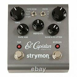 Strymon El Capistan BRAND NEW Guitar Effect Pedal from Japan