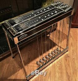 Stunning Carter D10, 8x8, Black, Pedal Steel Guitar