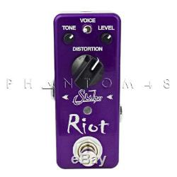 Suhr Guitars Riot Mini Distortion Guitar Effects Pedal Brand NEW