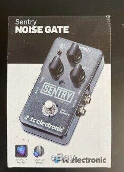 TC ELECTRONIC SENTRY NOISE GATE BRAND NEW IN THE BOX guitar pedal pedalboard