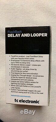 TC Electronic Flashback 2 Delay & Looper Pedal BRAND NEW echo Guitar Vtg Effect