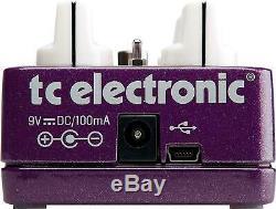 TC Electronic Vortex Flanger TonePrint Series Guitar Effects Pedal Brand New
