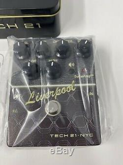 Tech 21 SansAmp Character Liverpool Distortion Guitar Effect Pedal Brand New