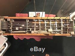 Travis Custom pedal Steel Guitar S12 With 6 Pedals And 6 Knee Levers