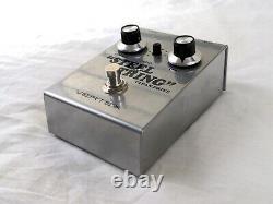 Used Vertex Steel String MKI Clean Drive Guitar Effects Pedal