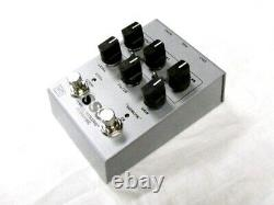 Used Vertex Steel String Supreme SSS Overdrive Guitar Effects Pedal