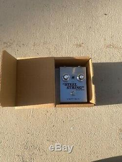 Vertex Effects Steel String Clean Drive Guitar Effects Pedal
