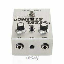Vertex Effects Steel String Clean Drive Guitar Effects Pedal, Guitar and Bass Pe