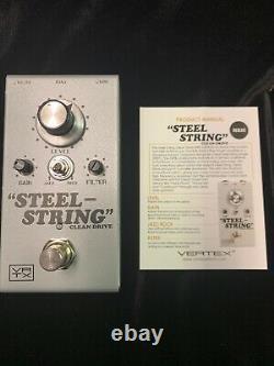 Vertex Effects Steel String Clean Drive mk 2 Guitar Pedal