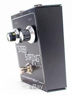 Vertex Effects Steel String S. R. V. Clean Boost Guitar Effect Pedal
