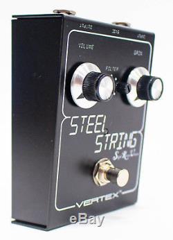 Vertex Steel String SRV Slight Return Version Clean Boost Guitar Effect Pedal
