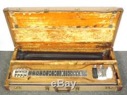 Vintage 1950s Fender 400 Pedal Steel Guitar for Minor Service