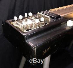 Vintage 1951 Gibson Electraharp Sunburst Pedal Steel Guitar 8 String 4 Pedals