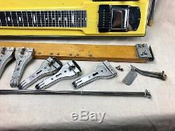 Vintage 1959 Fender 1000 Pedal Steel Guitar 1950's for Parts or Repair AS-IS