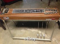 Vintage 70's MSA Pedal Steel Guitar The Red Baron (sidekick)