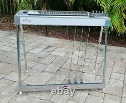 Vintage BMI 3X3 Pedal Steel Guitar with Hard Case! VG Cond