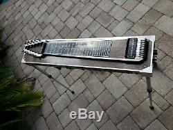 Vintage BMI S10 3X3 Red Pedal Steel Guitar withHard Case