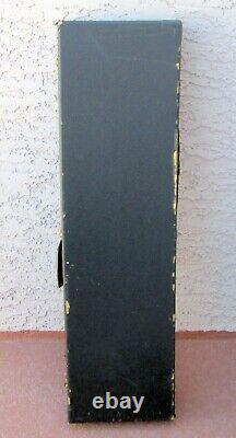 Vintage Bass Guitar Pedal Steel Case 44 X 11 Cheney Latches Restore
