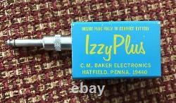 Vintage C. M. Baker Electronics IZZY PLUS Reverb USA Pedal Steel Guitar