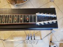 Vintage Dekley 3X3 Pedal Steel Guitar Case incl