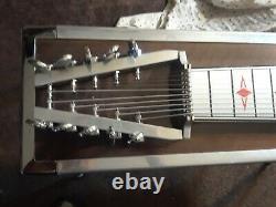 Vintage Dekley S-10 Pedal Steel Guitar With original case, & owners manual NICE