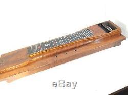 Vintage EMMONS Atomic & SHO BUD Cards Pedal Steel Guitars Grover 4 Restoration