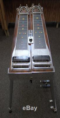Vintage Emmons D-10 Pedal Steel Guitar 8&5 8 Pedals 5 Knee Levers