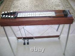 Vintage Emmons Little Buddy 10 String Steel Guitar Pedals & Lever need Tuning