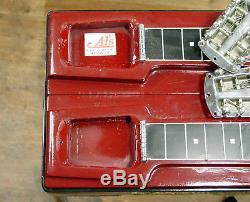 Vintage Fender 1000 8 String Pedal Steel Guitar with Original Case 1959 1960 1961