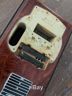 Vintage Fender 400 8-string guitar pedal steel body