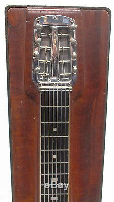 Vintage Fender Pedal Steel Guitar Model 400 with Case, Legs, Pedals