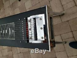 Vintage Fender Pedal Steel Guitar Project Parts