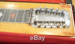 Vintage Fender (Sho Bud Maverick) Pedal Steel Guitar 3 Pedal 4 Lever