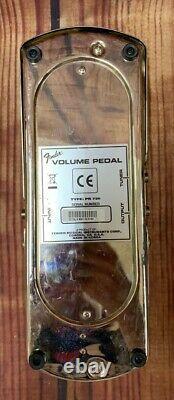 Vintage Fender Volume Pedal PR726 for Steel or Electric Guitar Made in Korea