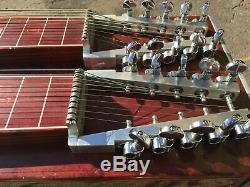 Vintage MSA D-10 Classic Pedal Steel Guitar 8X4