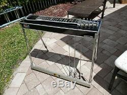 Vintage MSA Semi Classic 3X1 Pedal Steel Guitar with Case and Extras