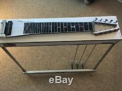 Vintage MSA Semi-Classic Pedal Steel Guitar, 70's, Good cond, all orig. +case