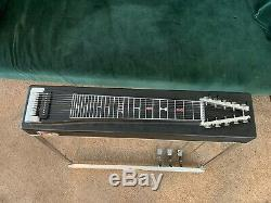 Vintage MSA Sidekick 3X1 Pedal Steel Guitar withhard Case