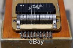 Vintage Miller 3X2 Pedal Steel Guitar with Hard Casel