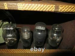 Vintage Oahu 397K VALCO SUITCASE Amplifier fr Pedal Steel Guitar TESTED WORKS