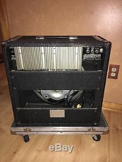 Vintage Peavey Nashville 400 Pedal Steel Guitar Amp PSG Black Widow BW Speaker