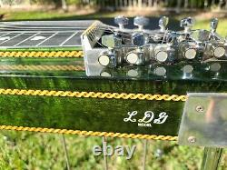Vintage Sho Bud LDG SD10 3X4 Pedal Steel Guitar withHard Case