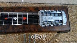 Vintage Sho Bud Maverick 3X1 Pedal Steel Guitar with Hard Casel