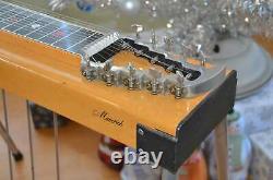 Vintage Sho Bud Maverick S10 3 Pedal Steel Guitar Maple with Carry Bag, Bar, More