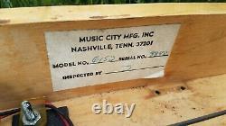 Vintage Sho-Bud Maverick S10 3 Pedal Steel Guitar withHard Case