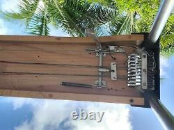 Vintage Sho Bud Maverick S10 3X1 Pedal Steel Guitar Maple withHard Case, Bar more