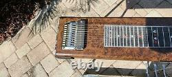 Vintage Sho-Bud Maverick S10 3X1 Pedal Steel Guitar withHard Case & More