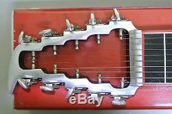 Vintage Sho Bud Maverick Steel Guitar 1971 3X1 Pedal with Case