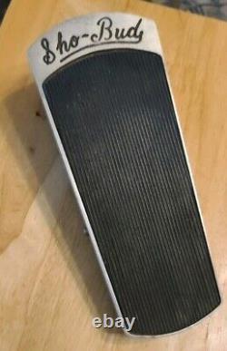 Vintage Sho Bud Volume Pedal for Pedal Steel Guitar Good Cond