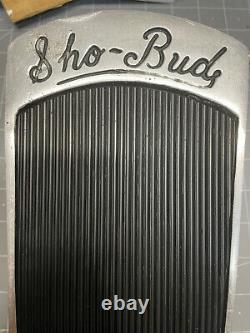 Vintage Sho-Bud (shobud) Volume Pedal / Guitar / Bass / Pedal Steel